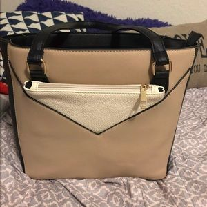 Colorblock Purse